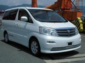 TOYOTA ALPHARD, 2004, 2.4 LITRE, PETROL, 65,490 MILES, AUTOMATIC IN WHITE