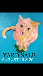 Yard Sale This Weekend (19/20) From 12-7!