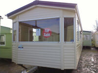 Static caravan Bk Calypso 35 x 10 ft / 3 bedrooms, 2008, electric heating