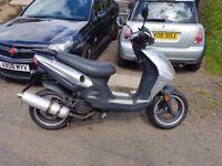 Jonway Madness Scooter 125cc MOT till 13th July 2018 £550 ONO