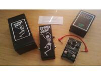 Stone Deaf PDF-2 parametric distortion filter & EP-1 wah/phaser expression pedal (new/boxed)