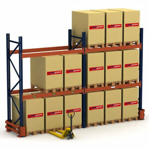 NEW & USED PALLET RACKING & SHELVING IN STOCK. LOWEST PRICING