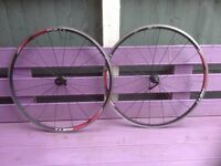 Shimano RS11 Clincher Front & Rear Wheelset Black 700c