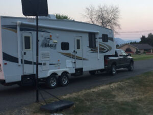 Dodge 3500 HD Diesel and Jaco 5th Wheel Combo