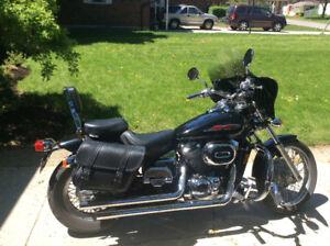 Upgraded Honda Shadow