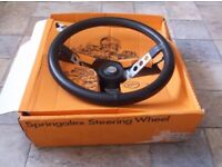 Genuine Springalex Steering Wheel Works Mk1 Ford Escort Twin Cam RS1600 Mexico