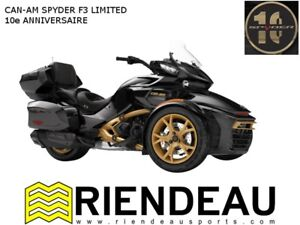 2018 can-am spyder 10e Anniversaire