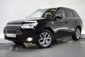 MITSUBISHI OUTLANDER 2.0 PHEV GX 4H [NAV/LEATHER] 5d AUTO 162 BHP (black) 2014