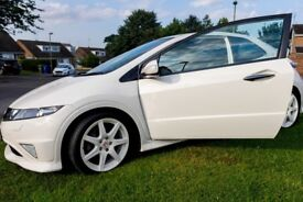 Limited Edition Honda Civic Type R Championship White - 59 Plate with low mileage