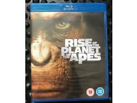 Rise of the Planet of the Apes Bluray Like New