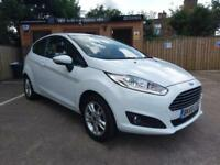65 REG FORD FIESTA 1.25 ZETEC IN WHITE