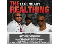 THE LEGENDARY REAL THING ' LIVE IN CONCERT ' 3 ORIGINAL MEMBERS