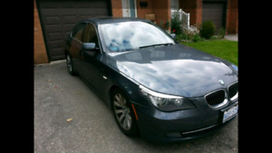 2008 BMW 535i, 2 year warranty remaining
