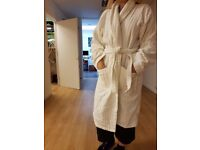 Lux Dressing Gown! Worn once and looking for new home!