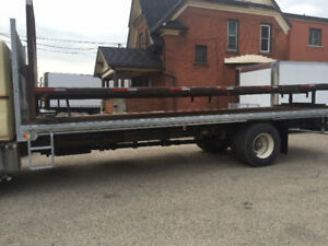 Flat bed available