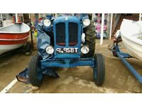 nuffield universal 4 tractor with leyland 4.107 diesel engine