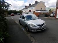Mazda 3 2004 reg 5 door hatchback in silver , good on fuel & lots of room ,px welcome