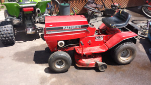 Lawn tractor trade for snowblower