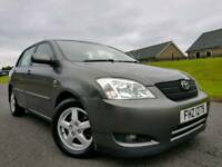 (New Model) 2004 Toyota Corolla 2.0 D4D T3, Lovely Example! Full Years MOT!