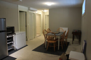 1+den or 2 bd fully furnished basement suite - avail Sept 1!