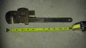metric wrenches pipe wrench