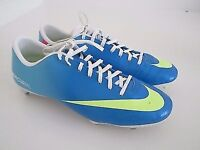 Nike mercurial Neptune blue football boots size 8(UK)