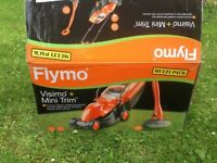 New Lawnmower and Trimmer - Flymo Visimo Rotary RRP £110+ - See description