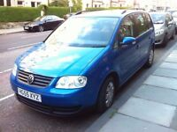 2005 Volkswagen Touran 1.9 tdi PD 6 speed manual 7 seater diesel MPV 1 previous owner!