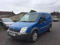 FORD TRANSIT 1.8 TDDI CONNECT VAN, PLYLINED, BULK HEAD, MILEAGE 89k, PX WELCOME