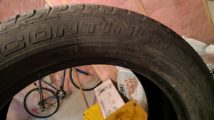 Summer Continental Tires P275/50/20