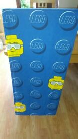 lego head curtains