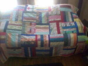 Homemade Patch Quilt
