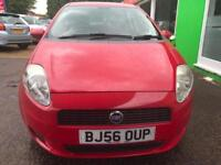 2006 Fiat Grande Punto 1.2 Dynamic-2Former Keepers-Red- 11 Service Stamps