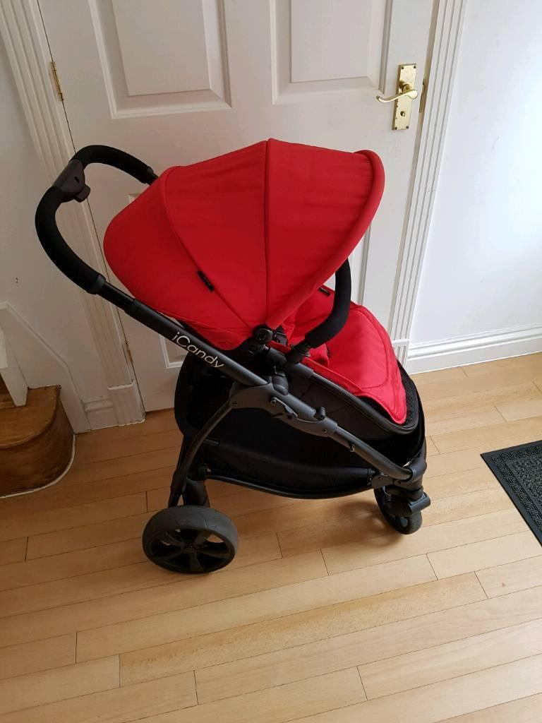 Icandy strawberry 2 pushchair stroller