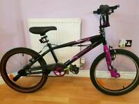 "Bike BMX 'Silverfox limitless' 20"" wheels, 11"" frame"