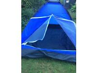 2 man tent - excellent condition- camping / festivals / beach / kids play
