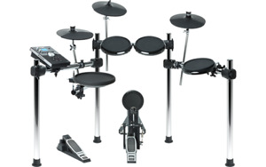 Alesis Forge electronic drum kit batterie with throne/banc