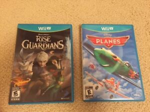 Wii U Games Rise of the Guardians and Planes