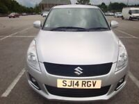 2014 (14) SUZUKI SWIFT 1.2 DDIS DIESEL SZ4 (TOP SPEC MODEL) 5 DR HATCH SILVER £20 TAX
