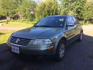 ** SAFETIED 2001 VW PASSAT**