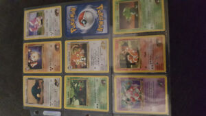 Old Pokemon Gym Heroes Cards - 2000