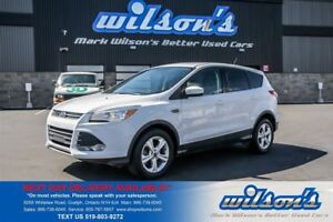 2014 Ford Escape SE 4WD! REAR CAMERA! 1 OWNER! HEATED SEATS! BLU