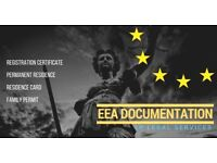 European Documentation- EEA Permanent Residence, Family Permit, Registration Card. UK Immigration