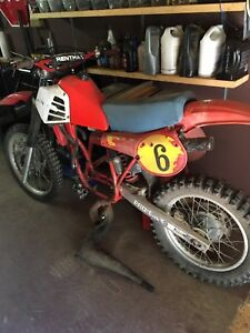 1981 Honda cr250 Elsinore