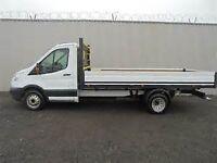 Van Hire flat bed GLASGOW/EDINBURGH/ SCOTLAND & UK. SAFE-SCAFF TRANSPORT SERVICES