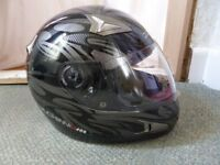 Motorbike Helmet & Bag