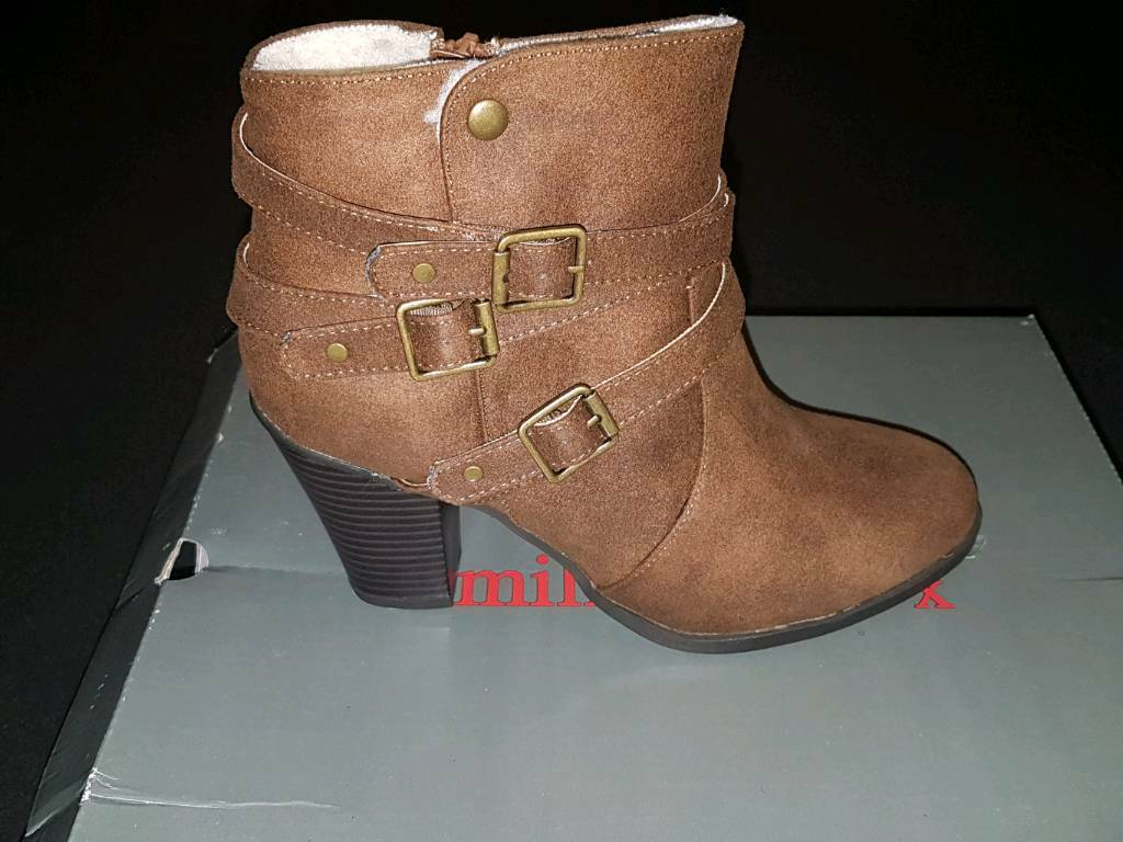 BRAND NEW SUEDE BOOT'S