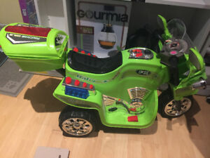 Kids motorcycle itch electrical battery