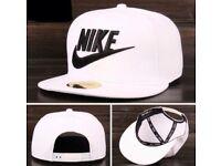 BRAND NEW NIKE SNAPBACK CAP ADJUSTABLE WHITE