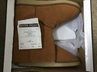River Island Ugg style boots